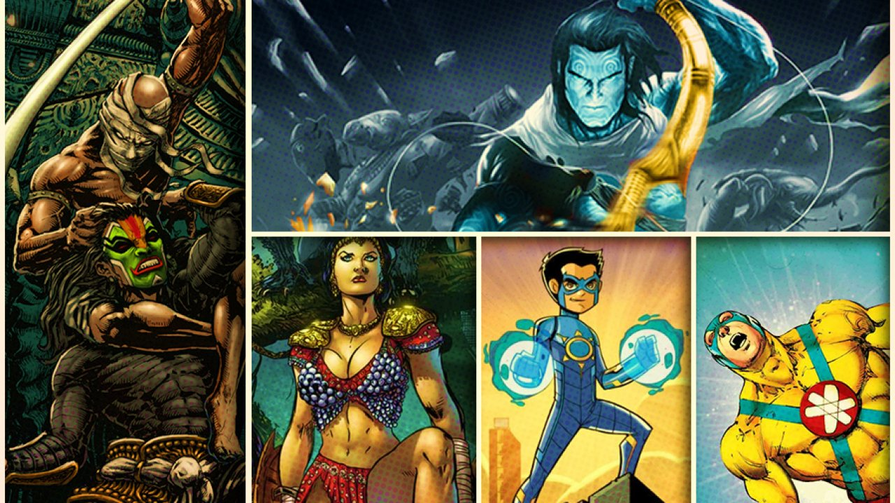 Top 10 Indian Comics That Should Be Made Into Superhero Movies Right Now