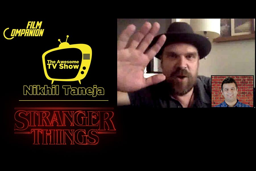 Exclusive Interview with David Harbour | Stranger Things, Film Companion