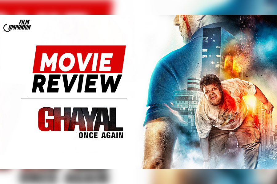 Ghayal Once Again: Old School And Silly, But Sunny Deol Makes It Work, Film Companion