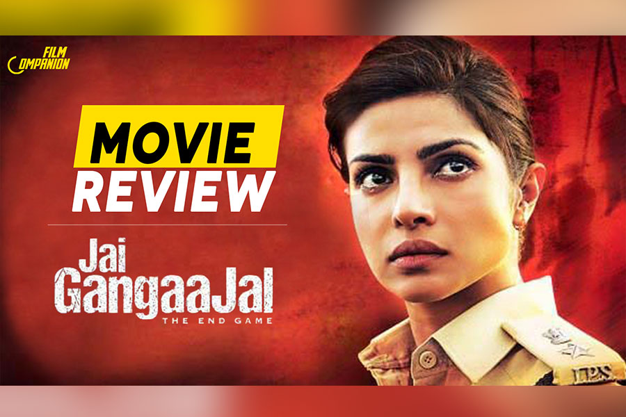 Jai Gangaajal Movie Review: A Woman Cop Fighting Goons Is A Great Idea, But Priyanka Gets A One-Note Character To Work With, Film Companion
