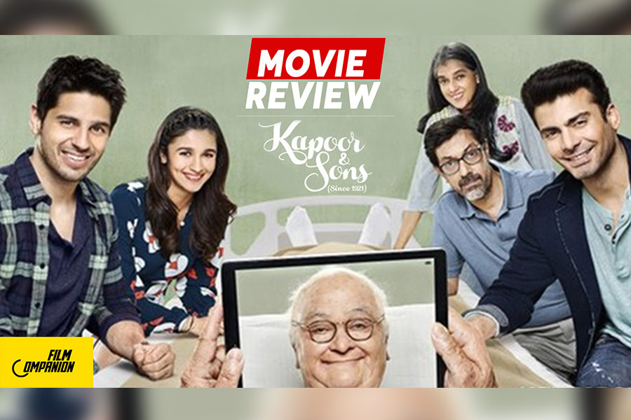Kapoor and Sons Movie Review: By the end of it, you feel like giving this family a group hug, Film Companion