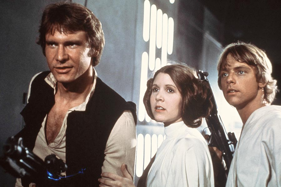 Six Star Wars Talking Points From Carrie Fisher's Book, Film Companion