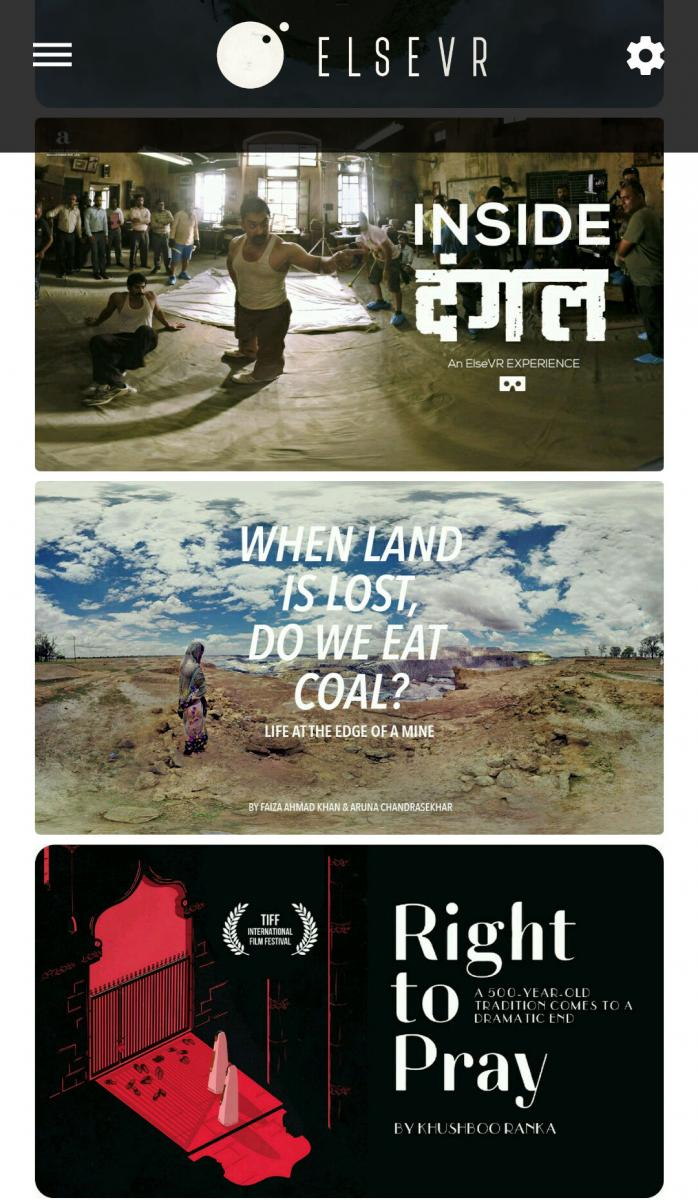 Review: Anand Gandhi's VR App ElseVR, Film Companion