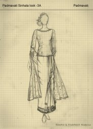 Designers Rimple and Harpreet's Sketches Of Padmaavat's Royal Costumes, Film Companion