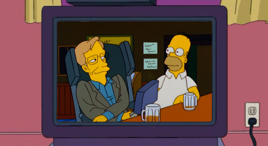 From The Simpsons to Star Trek: 4 Of The Best Stephen Hawking Television Cameos, Film Companion
