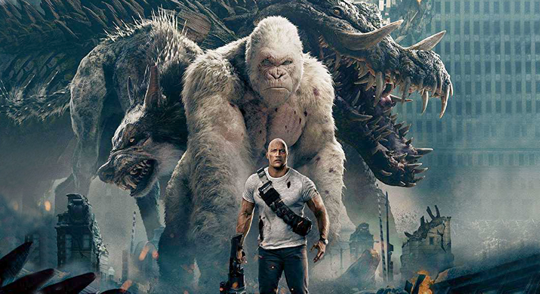 Rampage Movie Review: The Monsters Have More Sparkle Than The Humans, Film Companion