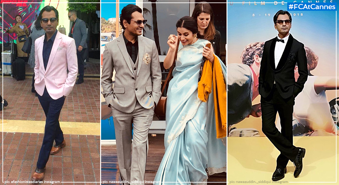 Nawazuddin Siddiqui Trades Trusty Suit For Manish Malhotra-Designed Cannes Wardrobe, Film Companion