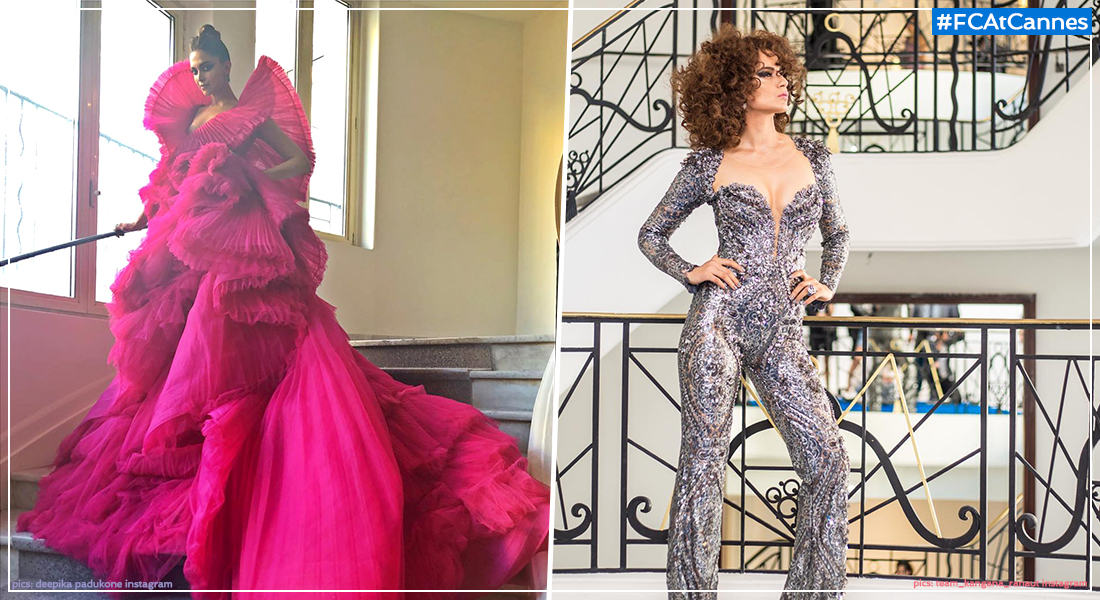 Cannes Day 2: Kangana Takes Risks With Abandon, Deepika Opts For The Tried And Tested, Film Companion