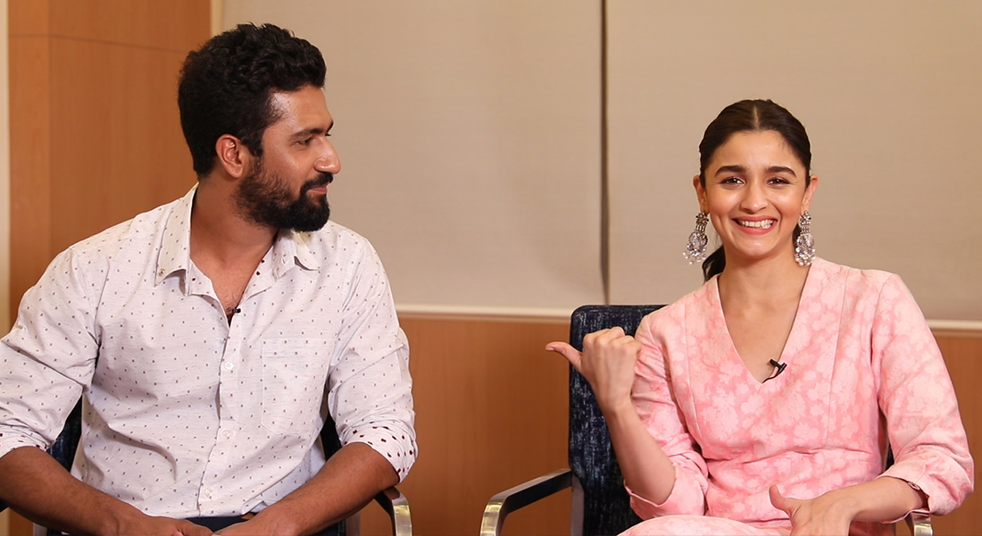 Alia bhatt and vicky kaushal on professional risks and the privilege you know when i see the two of you as leads in a film it also speaks to me of a evolution in hindi cinema alia youre this big bollywood star thecheapjerseys Images