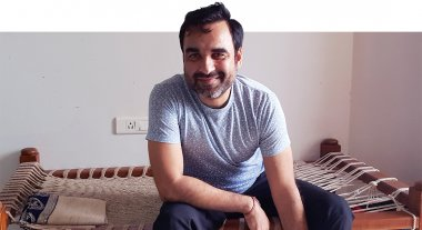 Pankaj_Tripathi_Actor_At_His_Home_In_Malad