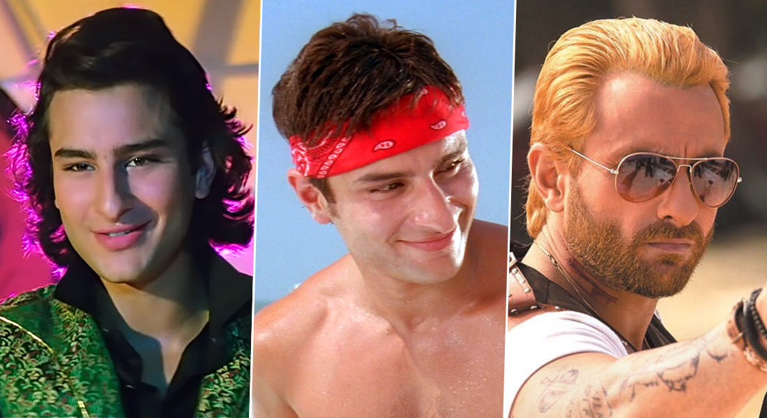 Saif Ali Khan Looks Back At His Career Through His Evolving Hairstyles, Film Companion