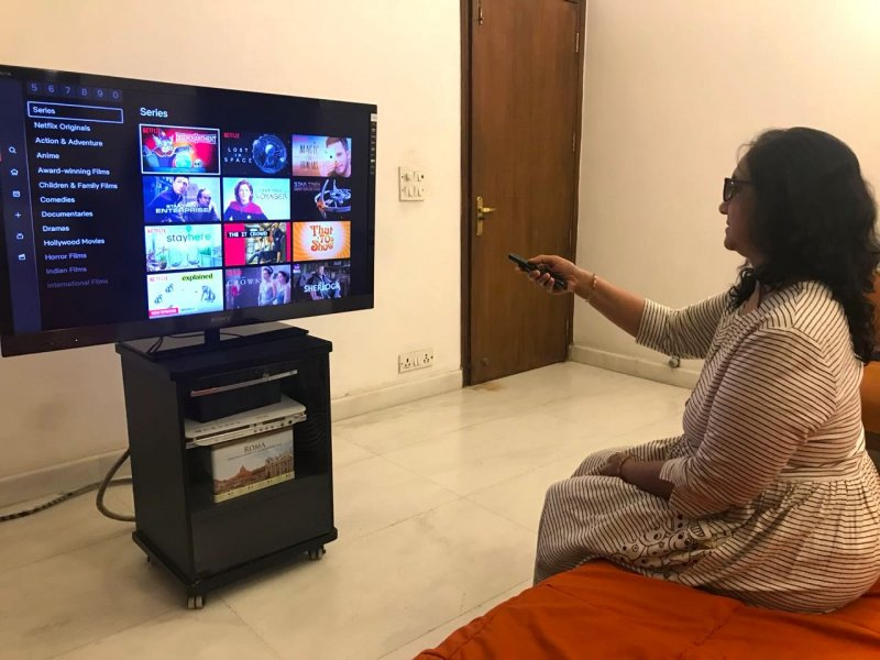 And That's How My Mother Met Netflix, Film Companion