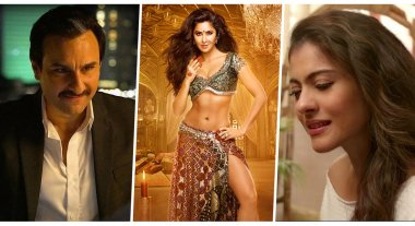 top 10 bollywood songs of october - bazaar, helicopter Leela, thugs of hindostan