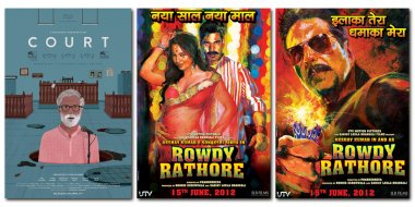 posters of rowdy rathore and court