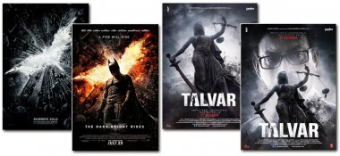 posters of talwar and dark night