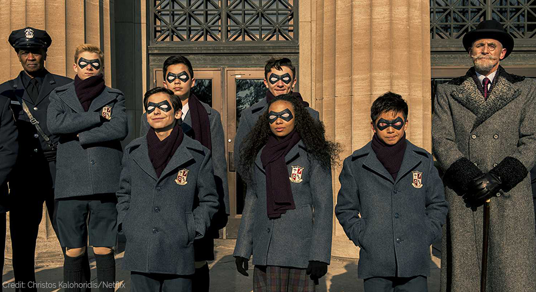 Now Streaming: The Umbrella Academy Review, Film Companion
