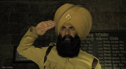 Akshay Kumar is Kesari