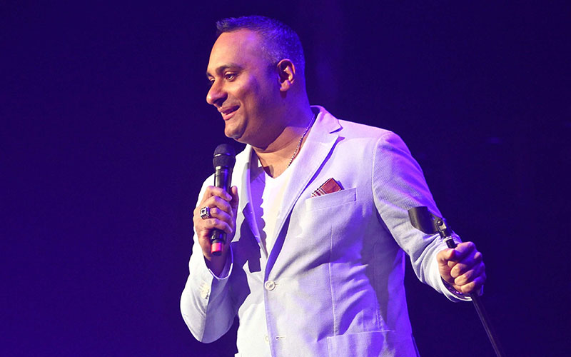 Russell Peters Interview Stand Up Comedy