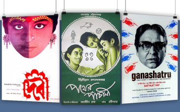 Posterphilia: The Poster Designs of Satyajit Ray, Film Companion