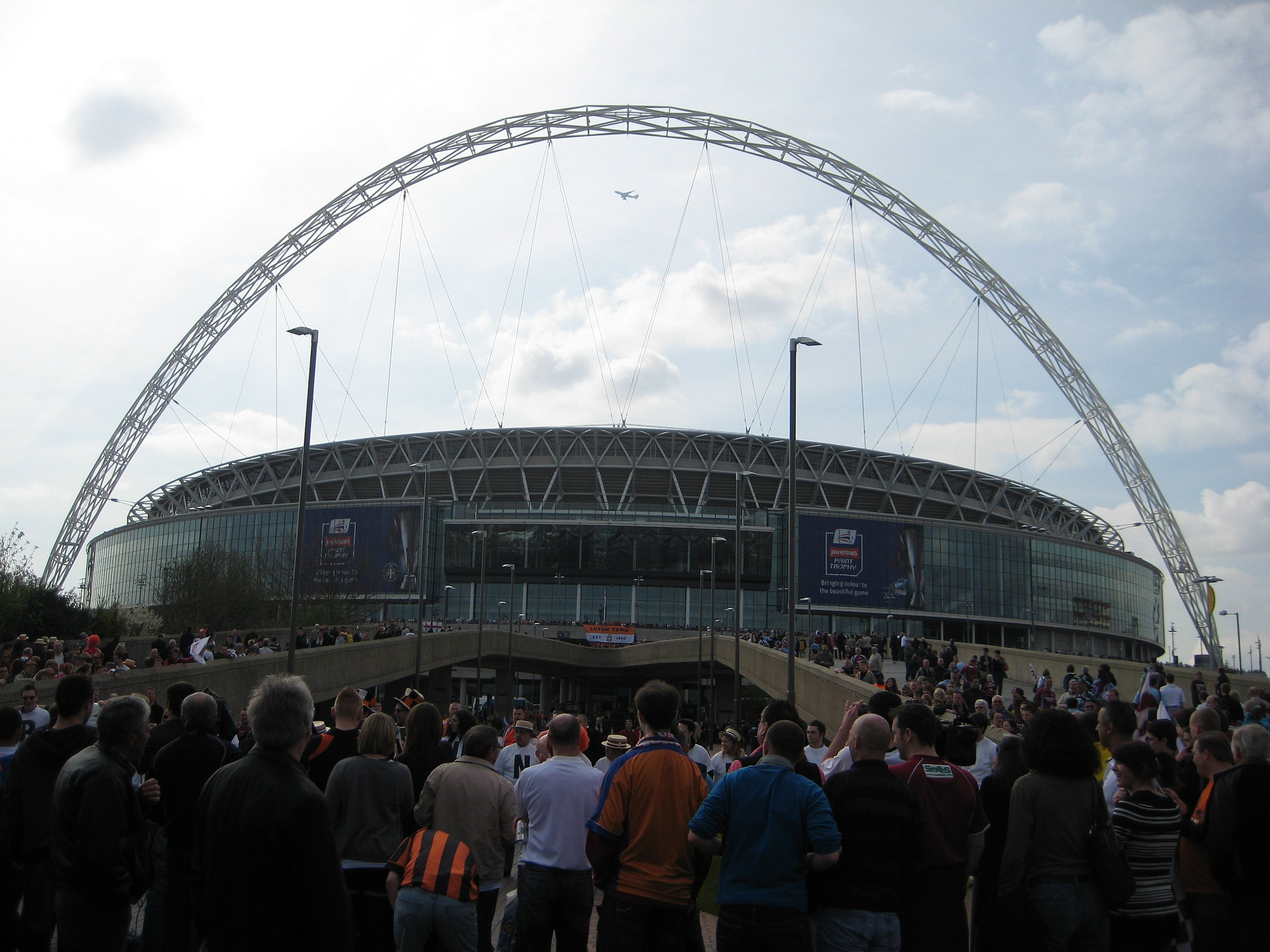 The Wembley Stadium