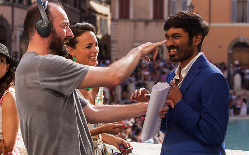 dhanush interview