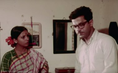 Girish Karnad and Shabana Azmi in Nishant