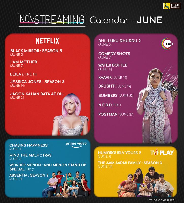 What to watch in june