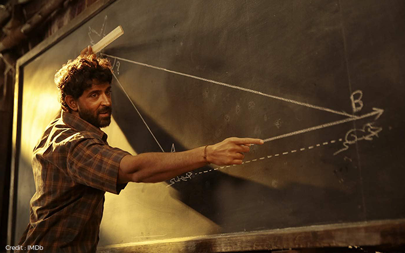 Hrithik Rosshan in Super 30