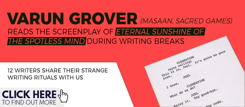 varun grover writing rituals