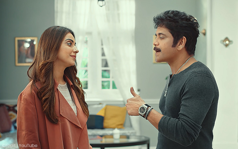 Manmadhudu 2 Movie Review Nagarjuna
