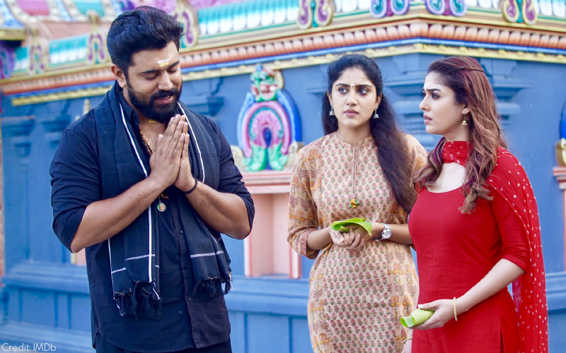 Nivin Pauly, Dhanya Balakrishna and Nayanthara in Love, Action Drama