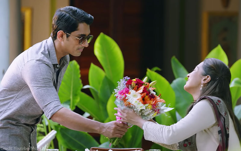 Siddharth and Catherine Tresa in Aruvam