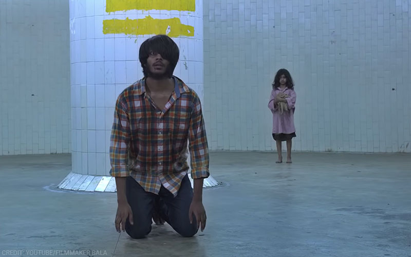 A still from Pisaasu, directed by Mysskin