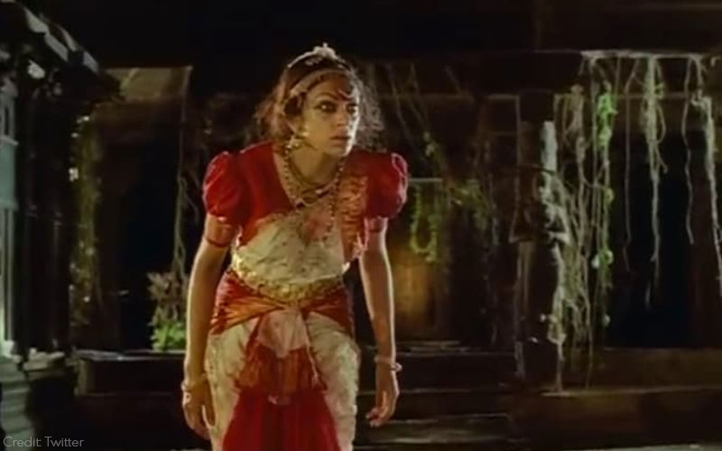 Shobana as Ganga in Manichithrathazhu