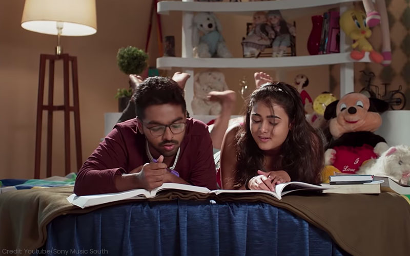 GV Prakash Kumar and Shalini Pandey in 100% Kaadhal