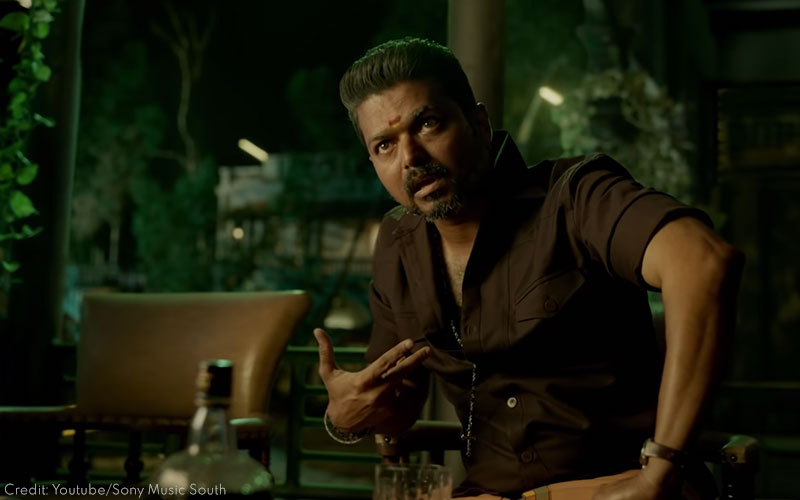 Vijay as Rayappan in Bigil