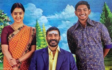 Manju Warrier and Dhanush in Asuran