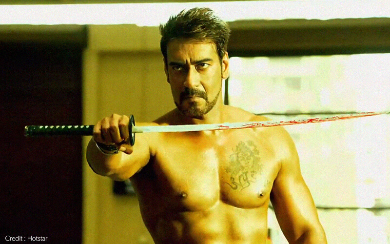 dumbest bollywood action scenes ajay devgn