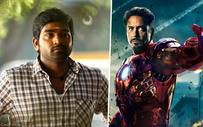 Vijay Sethupathi dubbed for Iron Man in Tamil, but it did not go down very well
