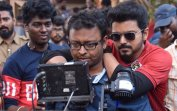 Vishnu with Vijay during Bigil