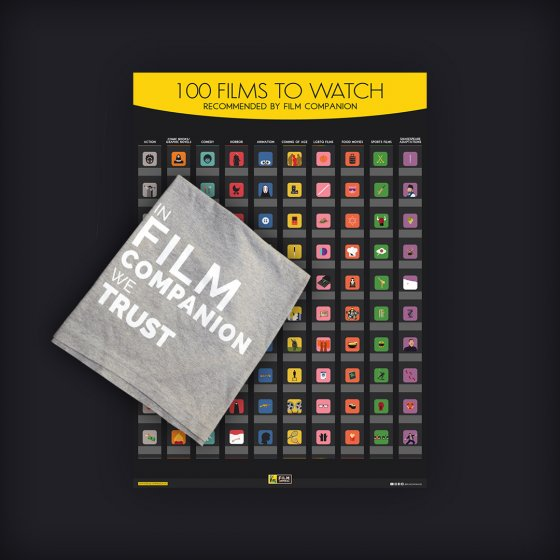 film companion we trust t-shirt - poster combo