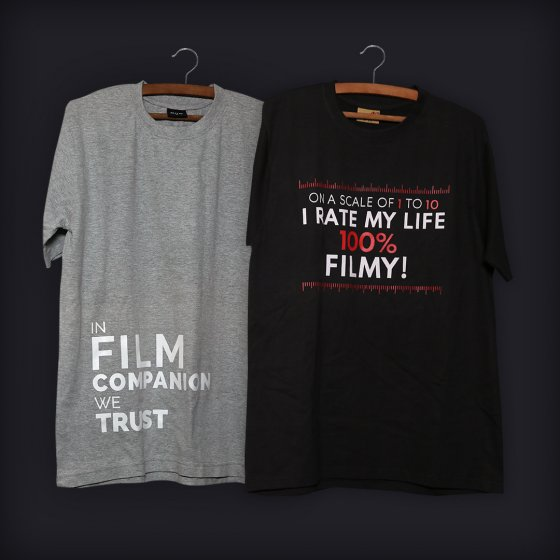 film companion we trust t-shirt - 100% filmy combo