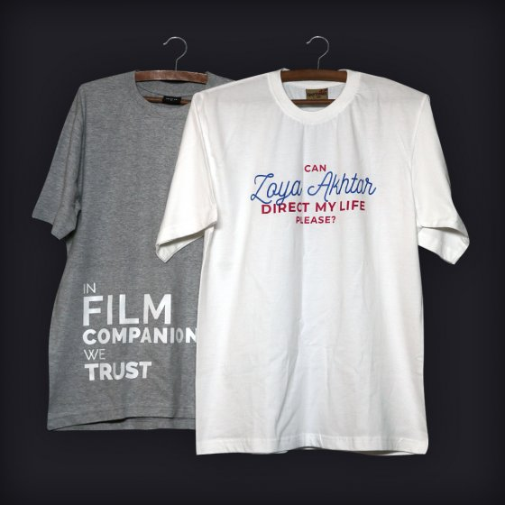 film companion we trust t-shirt - Zoya akhtar combo