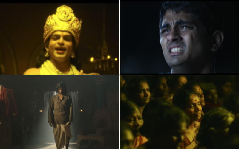 A collage of scenes from Kaaviya Thalaivan, for Flops Of Glory