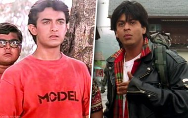 SRK and aamir khan in the 90s