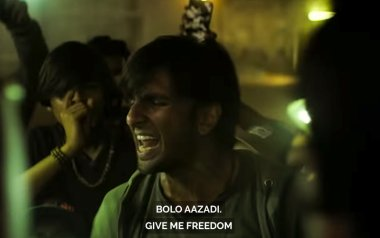 gully boy protest song