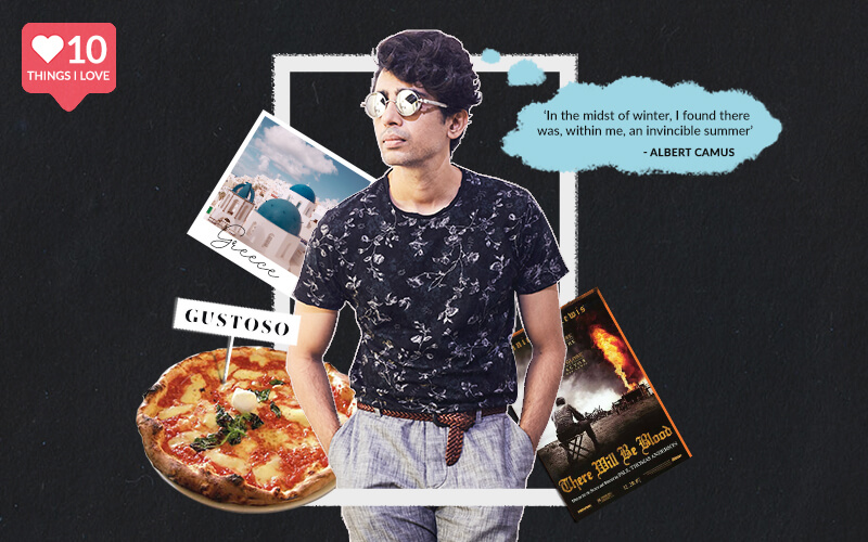 10 Things Gulshan Devaiah Can't Live Without