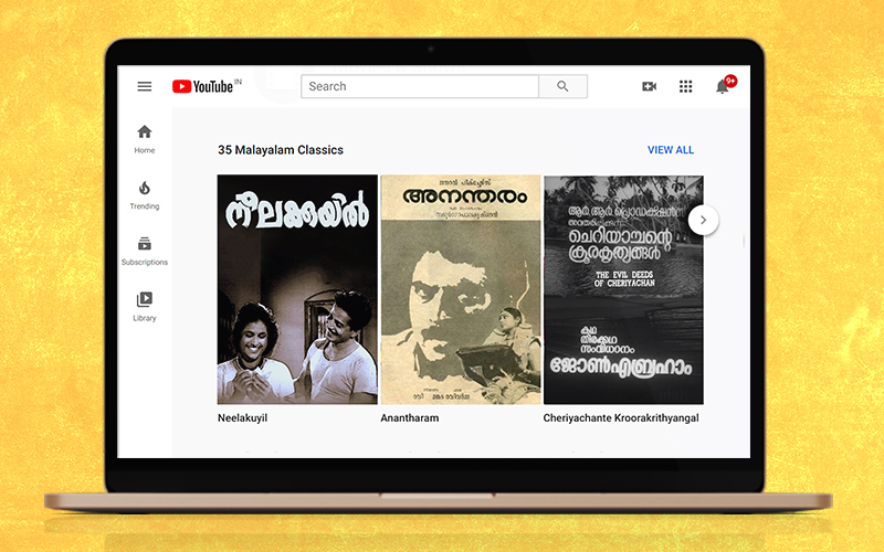 Thirty Malayalam Classics On YouTube You Now Have The Time to Watch