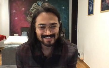 Bhuvan Bam during lockdown