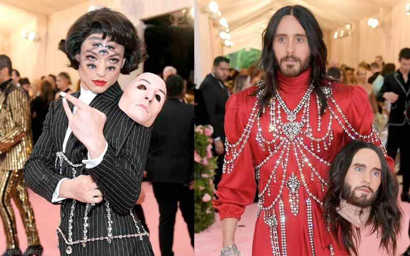 most outrageous looks from the history of the met gala